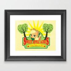Sweet Apple Acres Framed Art Print