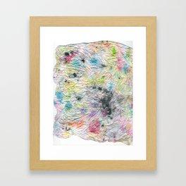 Spotted Mess Framed Art Print