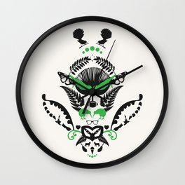 New Zealand  Wall Clock