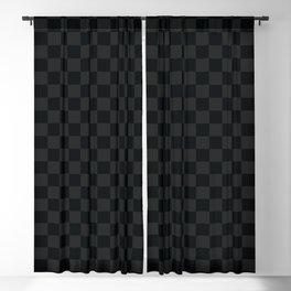 Dark Checkered Pattern. Digital Painting Illustration Background Blackout Curtain