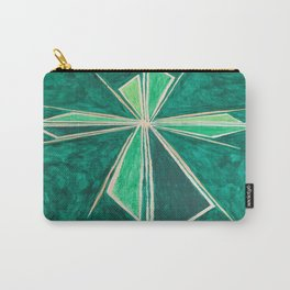 Green Cross Carry-All Pouch