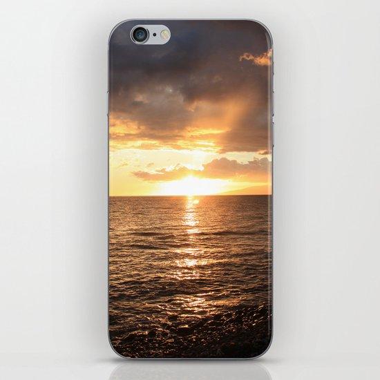 Good night sun! iPhone & iPod Skin