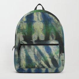 Tie Dye Blue Green 11 Backpack