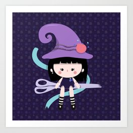Taylor Witch Art Print