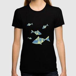 Fish on blues T-shirt