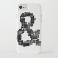 ampersand iPhone & iPod Cases featuring Ampersand by Jorge Garza