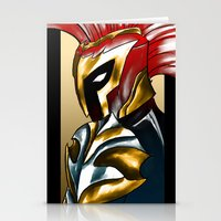 soldier Stationery Cards featuring Soldier by Hawthornearts