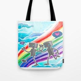Robot Pride Tote Bag