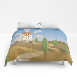 a quijote's glance Comforters