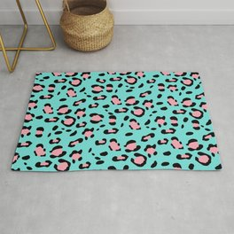Leopard Animal Print Glam #2 #pattern #decor #art #society6 Rug