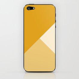 Mustard Tones iPhone Skin