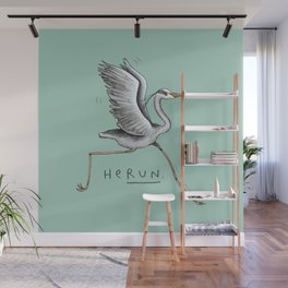 HeRUN Wall Mural