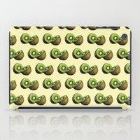 kiwi iPad Cases featuring Kiwi by Sara Soto