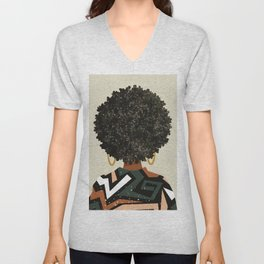 Black Art Matters Unisex V-Neck