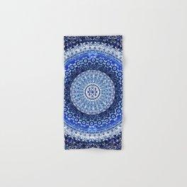 Cobalt Tapestry Mandala Hand & Bath Towel