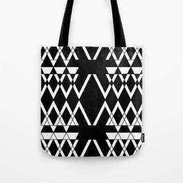 Aztec Negative  Tote Bag