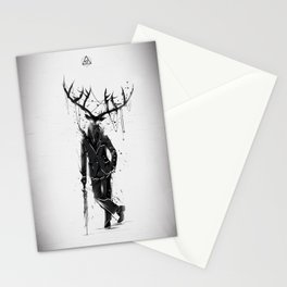 A Fine Lunch Sketch Stationery Cards