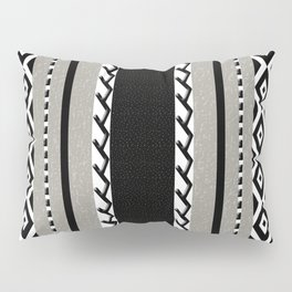 Faux knit cloth grey Pillow Sham