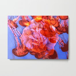 Pacific Rose Metal Print
