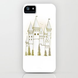 Sunset Castle iPhone Case