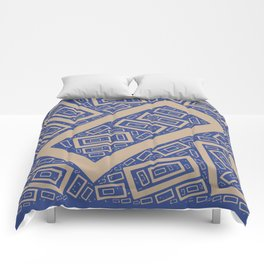 Rectangle Pattern Comforters