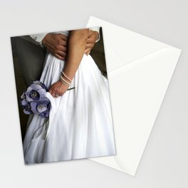 First moments after a wedding Stationery Cards