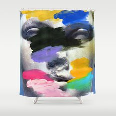 Composition 498 Shower Curtain