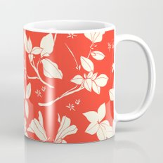 Drawings from Stonecrop Garden, Pattern in Red Coffee Mug