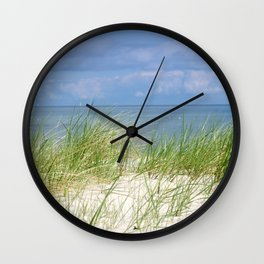 Dunes of the Baltic Sea Wall Clock