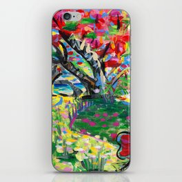 Librarian's Tree iPhone Skin