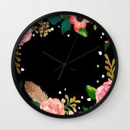 River Park - Sacramento cushion Wall Clock
