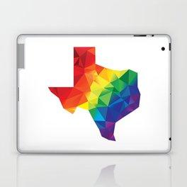 Geometric Pride Texas Laptop & iPad Skin
