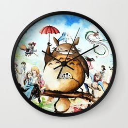 """The lovers crossover"" Wall Clock"