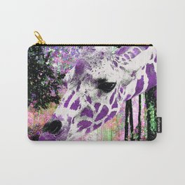 GIRAFFE FANTASY ENCOUNTER FOREST DREAM Carry-All Pouch