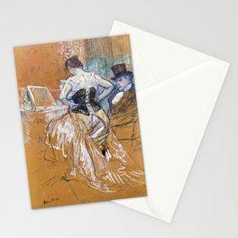 Henri Toulouse Lautrec / Augustins - Conquête de passage 1896 Stationery Cards