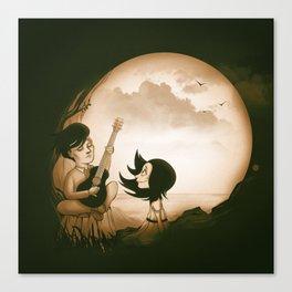 Skull Serenade Canvas Print