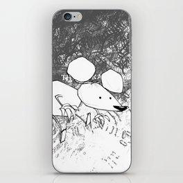minima - deco mouse iPhone Skin