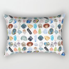 Illuminated Structure: Mineral Party 1 Rectangular Pillow