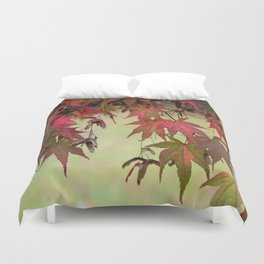 Maple Leaves Duvet Cover