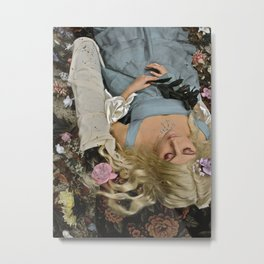 sleeping beauty Metal Print