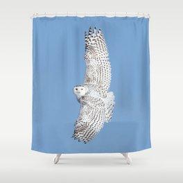 Flight of the goddess Shower Curtain