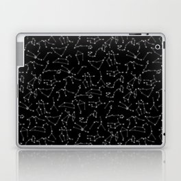 Zodiac Signs Constellations Glowing Stars | Space | Astrology | Cosmos Laptop & iPad Skin
