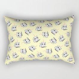 Kitty Hearts Kill - Cats Love Plotting Rectangular Pillow