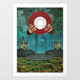 Garden Of Perpetual Love Art Print