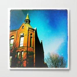 Blue heavens Metal Print