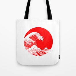 Hokusai great wave of Kanagawa Tote Bag