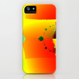 Fractal Design - Colorful Spaces iPhone Case