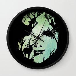 spirit of woods Wall Clock