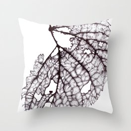 Decomposing Throw Pillow