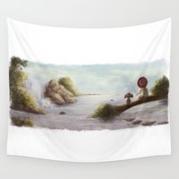 best friends Wall Tapestries featuring Best Friends by Glimpen